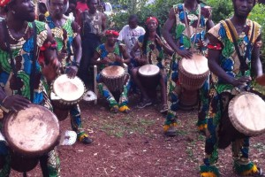 Soda's african drumming troupe