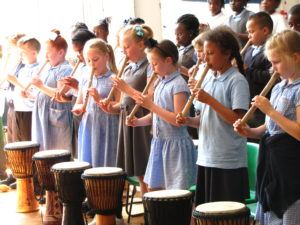 African Music School children